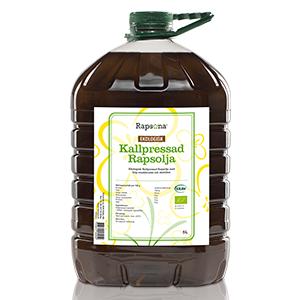 Ekologisk kallpressad rapsolja, KRAV 5L