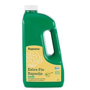 Ekologisk extrafin rapsolja, KRAV